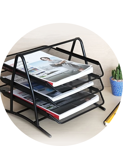 Magazine & Document Trays