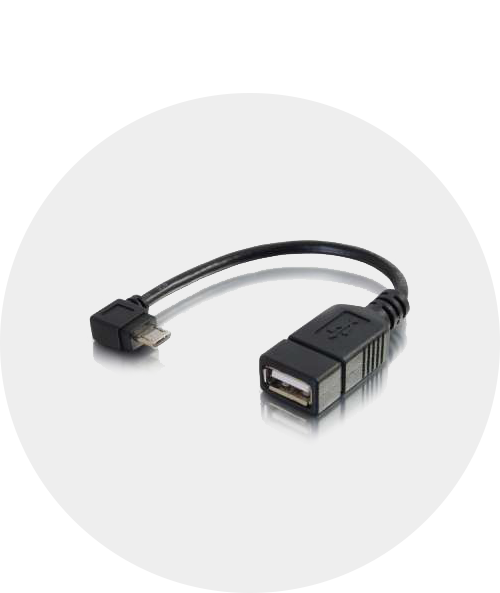 Adapters with USB