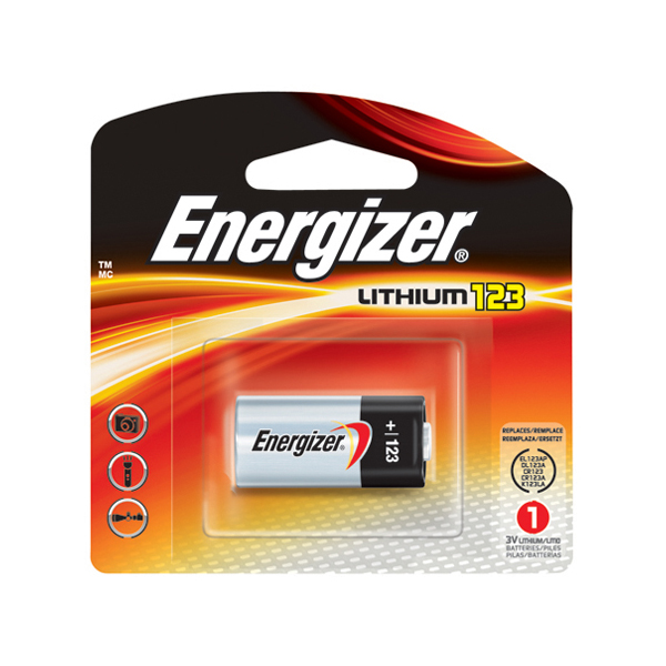 Energizer 123APBP1 e2 3V Lithium Battery (box/6pkt)