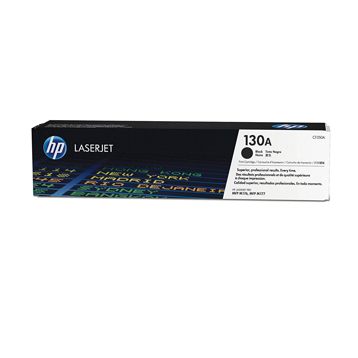 HP 130A LaserJet Toner Cartridge - Black