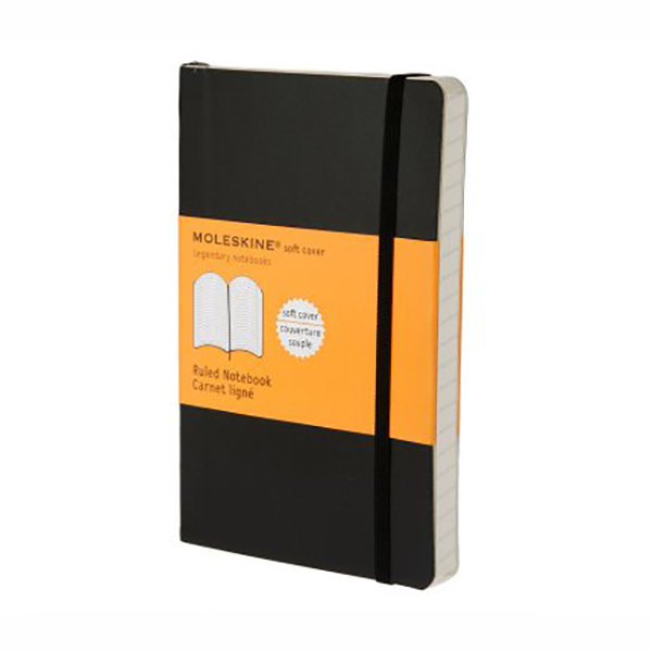 Moleskine Ruled Soft Notebook - Pocket (ME-QP611EN/9)