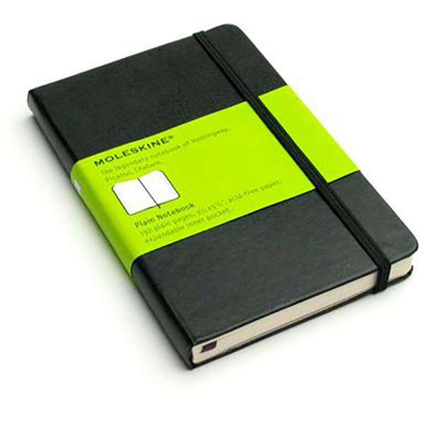Moleskine Plain Pocket Notebook (ME-QP012EN/9)