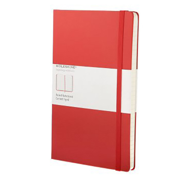 Moleskine Ruled Red Notebook - Large (ME-QP060REN)