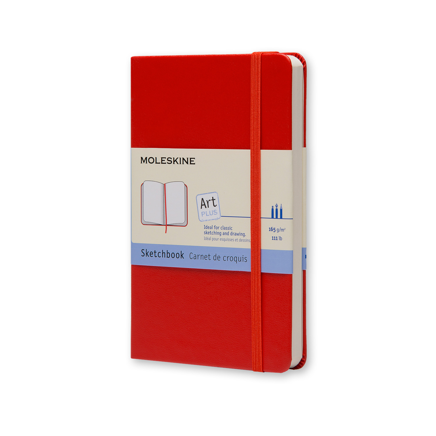 Moleskine Red Sketchbook - Large (ME-QP063REN)