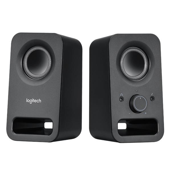 Logitech Z150 Multimedia Speakers-2.0 (Black)