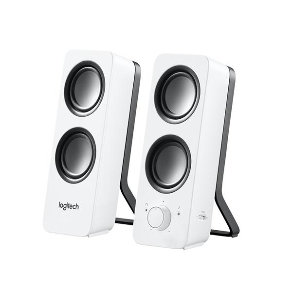Logitech Z200 Multimedia Speakers-2.0 (White)