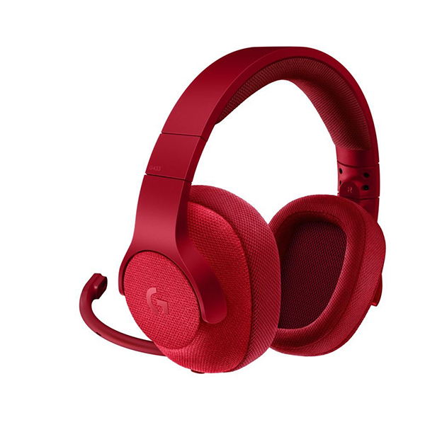 Logitech G433 7.1 Surround Gaming Headset - (Fire Red)