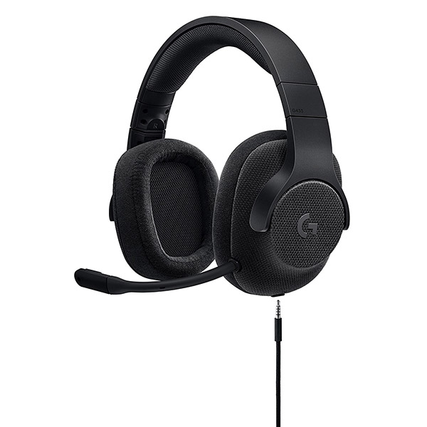 Logitech G433 7.1 Surround Gaming Headset - (Triple Black)