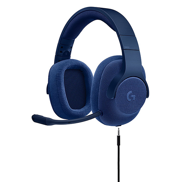 Logitech G433 7.1 Surround Gaming Headset - (Royal Blue)