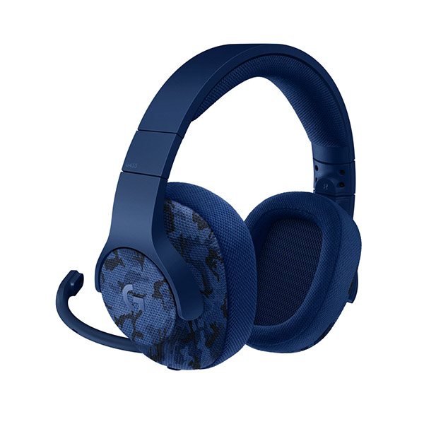 Logitech G433 7.1 Surround Gaming Headset - (Blue Camo)