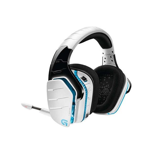Logitech G933 Artemis Spectrum Wireless 7.1 Surround Gaming Headset (White)