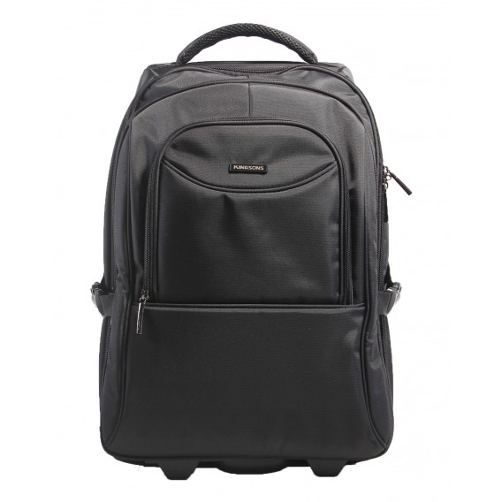 Kingsons Prime Series 15.6 in Trolley Backpack- Black