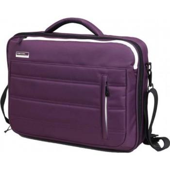 Kingsons Slice of Life Series 15.6 in Laptop Shoulder Bag - Purple
