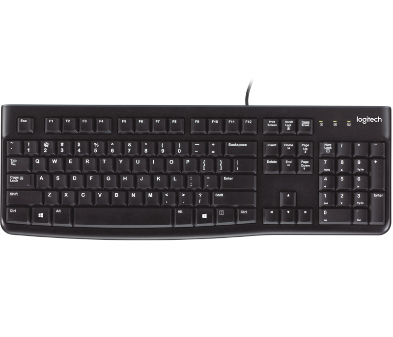Logitech K120 Wired Keyboard (English)
