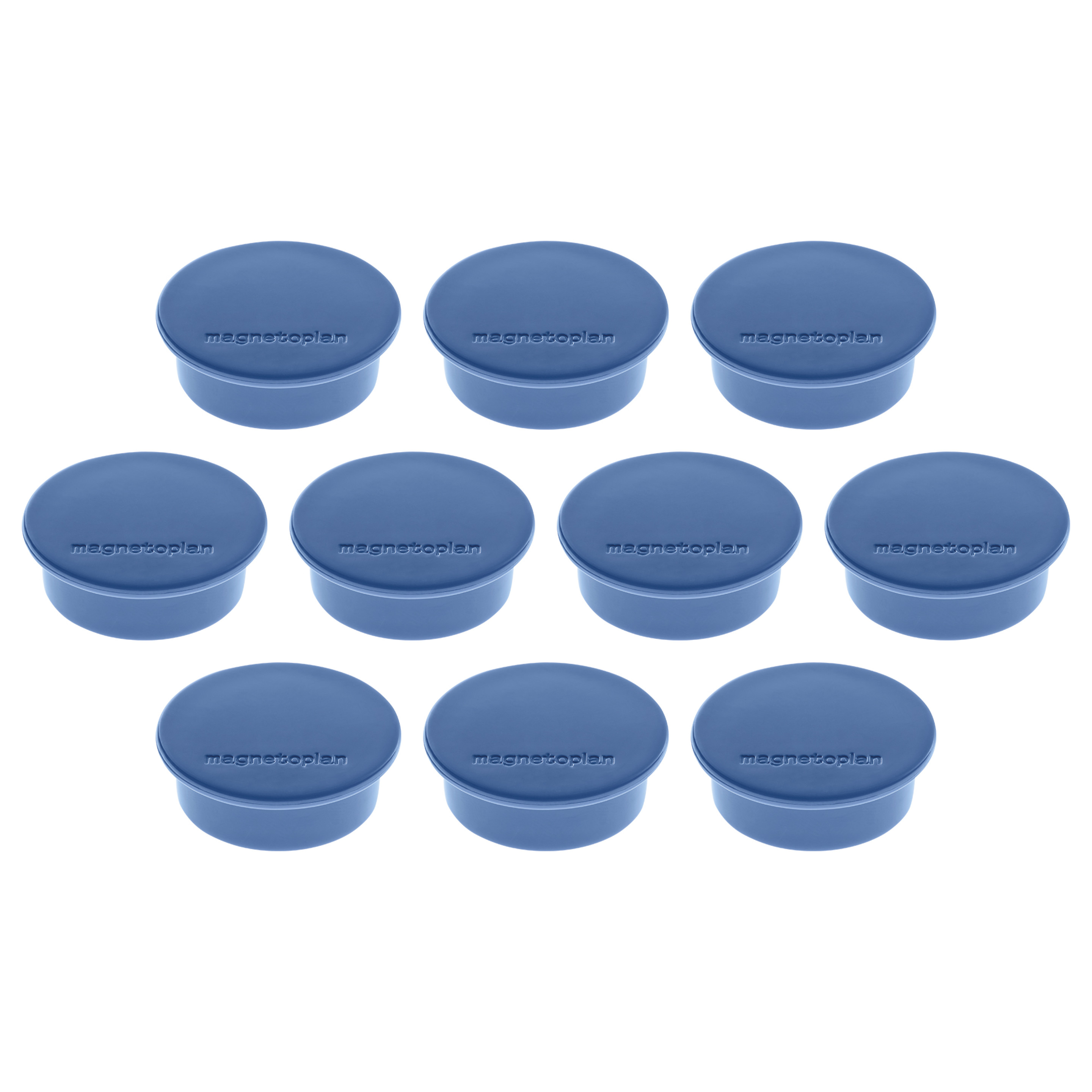 Magnetoplan Magnetic Discofix Mini - Dark Blue (pkt/10pcs)