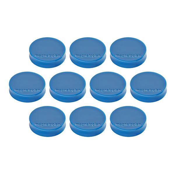 Magnetoplan Magnetic Discofix Hobby - Dark Blue (pkt/6pcs)