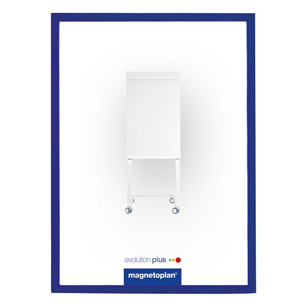 Magnetoplan Magnetic Display Frames COP 1130303 - Dark Blue (pkt/5sheets)