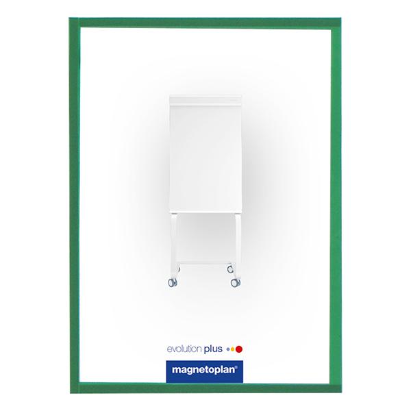 Magnetoplan Magnetic Display Frames COP 1130305 - Green (pkt/5sheets)