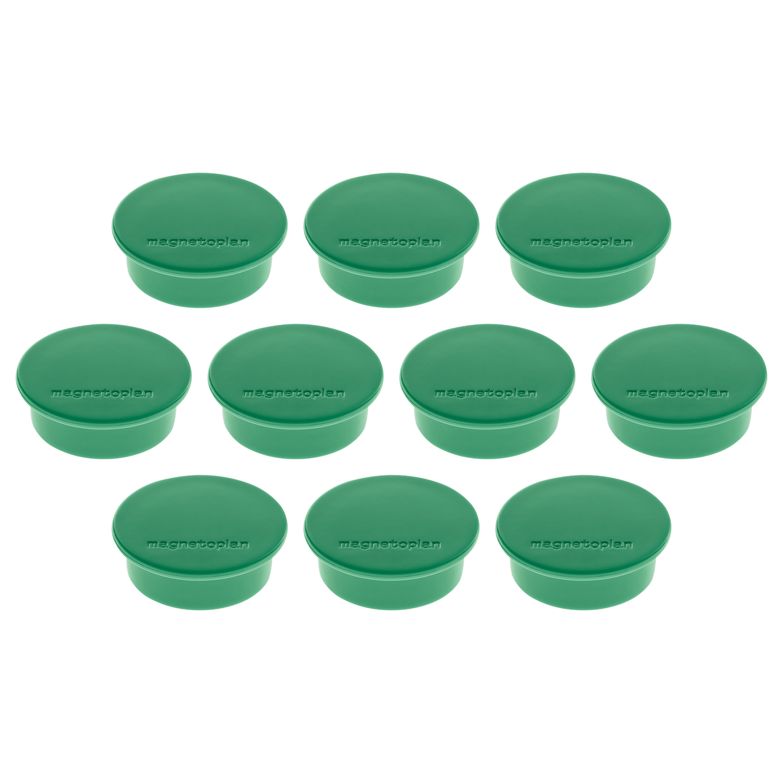 Magnetoplan Magnetic - Discofix Colors (Green) (pk/10pcs)