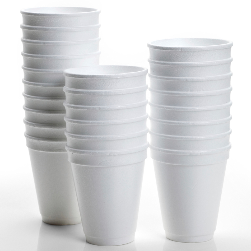 Hotpack Foam Cup 40*60Z180ML  (25pc/pkt)