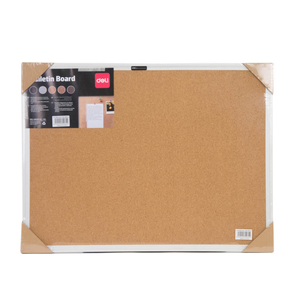 Deli Cork Board 60 x 45cm - Yellow (pc)