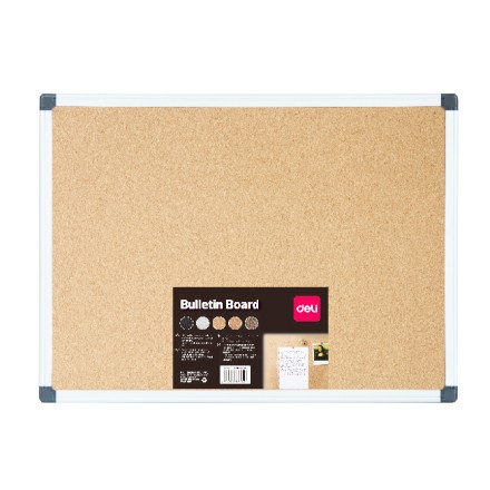 Deli Message Board 1200 x 900mm (Yellow)