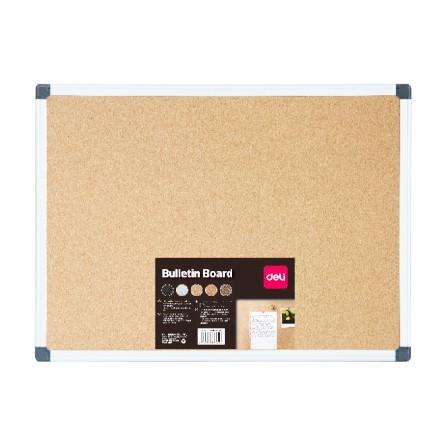 Deli Cork Board 120 x 90cm - Yellow (pc)