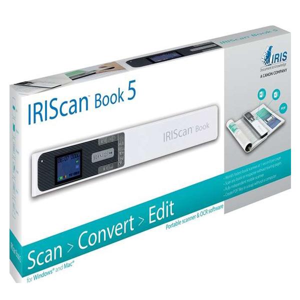 IRIScan Book 5 White - 30PPM