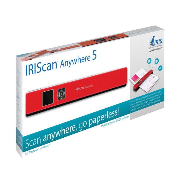 IRIScan Anywhere 5 Red - 8PPM