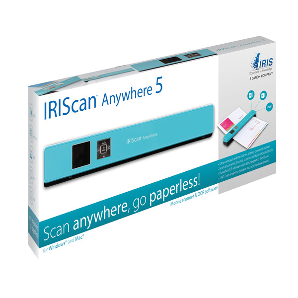 IRIScan Anywhere 5 Turquoise - 8PPM