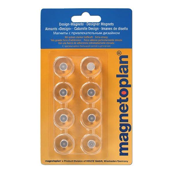 Magnetoplan Innovative Design Magnets (pkt/8pcs)