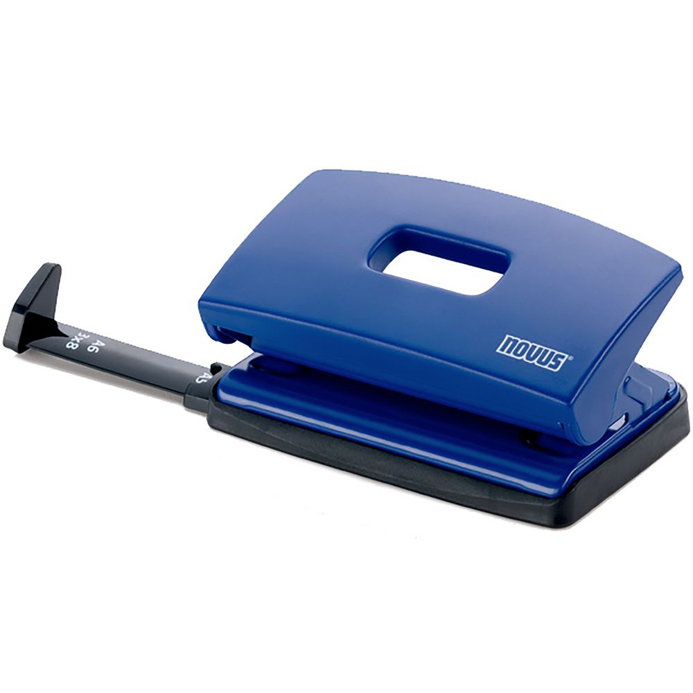 Novus C210 Puncher 10-sheets capacity - Blue (pc)