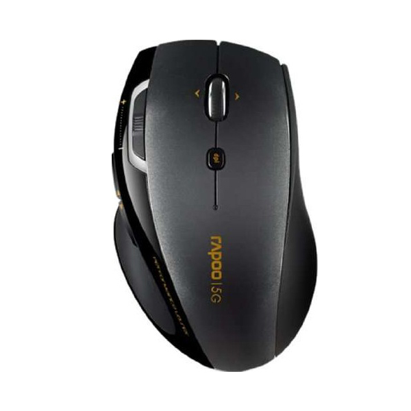 Rapoo 7800P Wireless Comfort Mouse - Black