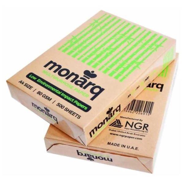 Monarq Photocopy Paper A4 80gsm(Box/5Ream)