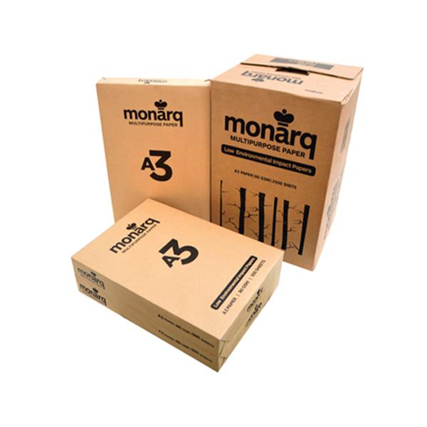 Monarq Photocopy Paper 80g A3 (Box/5Ream)