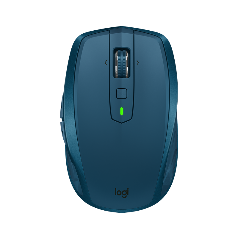 Logitech MX Anywhere 2S Wireless Mobile Mouse - (Midnight Teal)