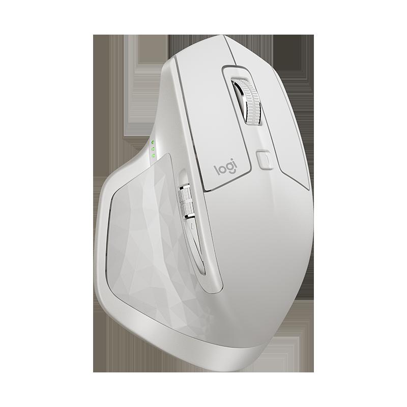 Logitech MX Master 2S Wireless Mouse (Light Grey)