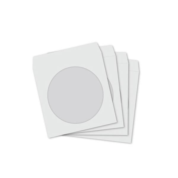 Sleeves White (100pc/200cd)