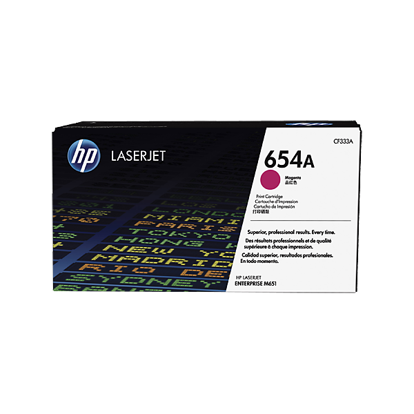 HP 654A Magenta Original Laserjet Toner Cartridge (CF333A)