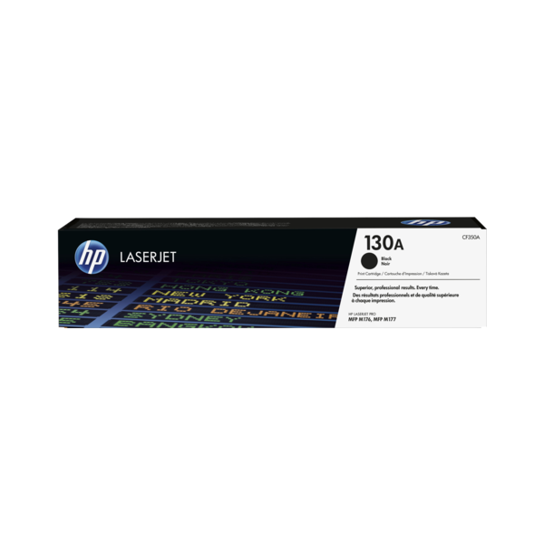 HP 130A (CF350A) Toner Cartridge - Black