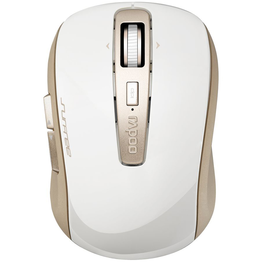 Rapoo 3920P Wireless Laser Mouse - Gold