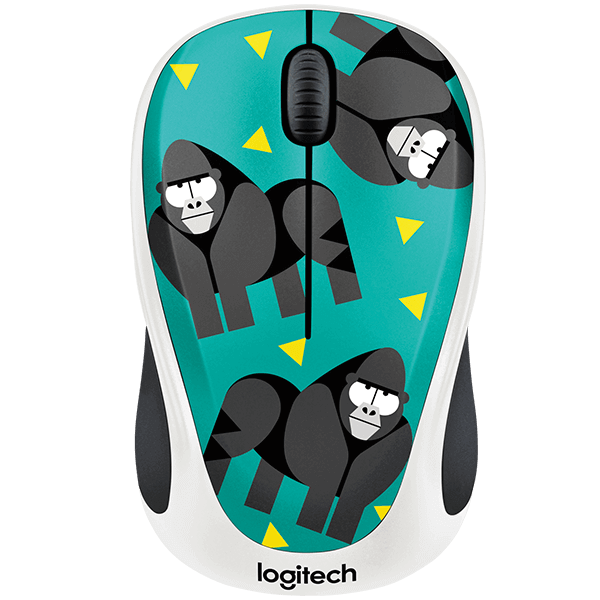 Logitech M238 Wireless Mouse Play Collection - Monkey