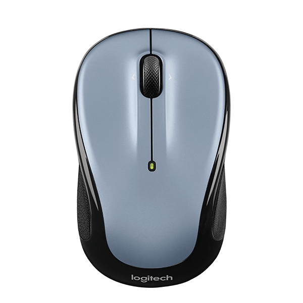 Logitech M325 Wireless Mouse -(Light Silver)