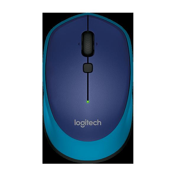 Logitech M335 Wireless Mouse (Blue)