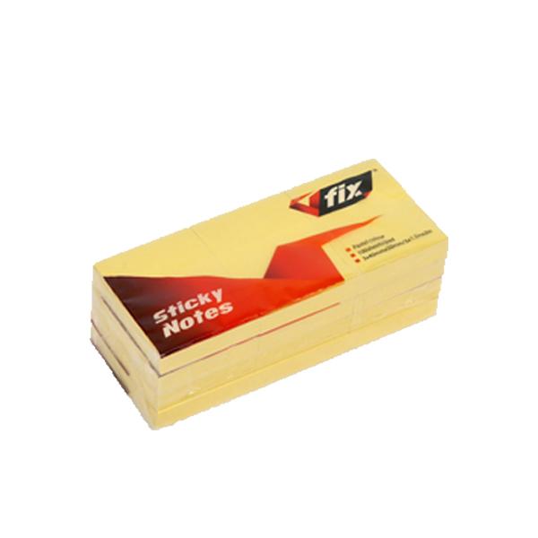 V Fix VF 152 Post-it Pad 1.5 x 2 - Yellow (pkt/12pc)