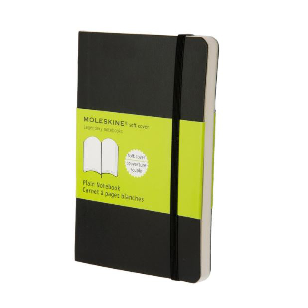 Moleskine Plain Soft Notebook - Pocket (ME-QP613EN/9)