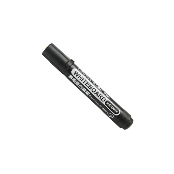 Deli Whiteboard Marker - Black (pc)