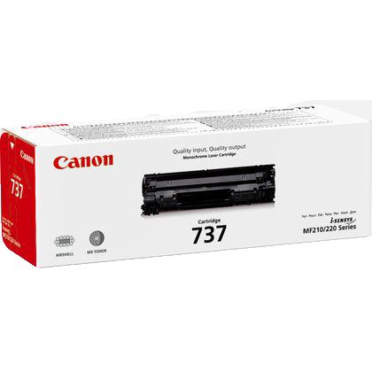 Canon 737 Toner Cartridge - Black