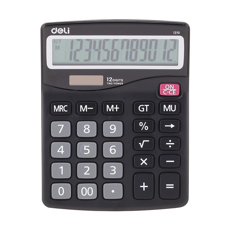 Deli E1210 12-digit Calculator