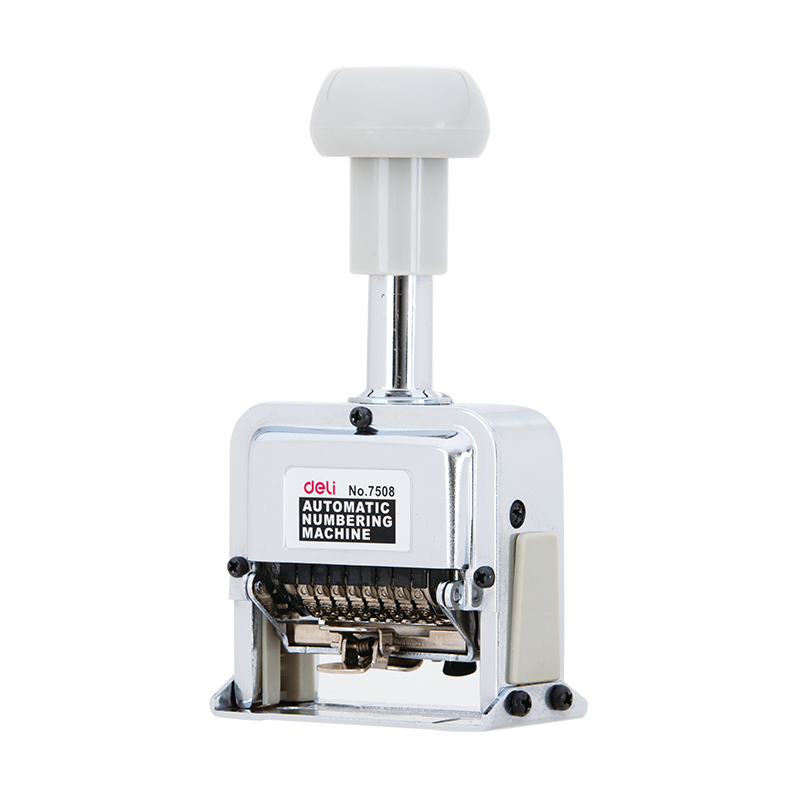 Deli E7508 Numbering Machine - 8 digits